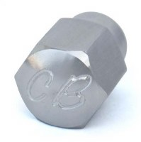 Alt/Gen Nut Billet CB Silver
