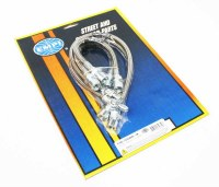 S/S Brake Hose Kit : T1 66-68