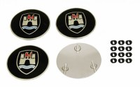 Hubcap Crests - Wolf