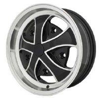 Rebel Wheel Black/Polished 15x5.5 (EP10-1120)
