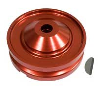 Alt/Gen Pulley Billet Red