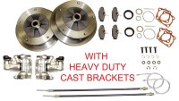 Rear Disc Kit T1 58-67 W/Ebrk HD