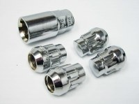 Wheel locks  1/2-20 Acorn