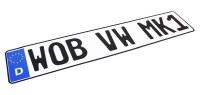 """Europlate EEC """" WOB VW MK1"""" V2"""