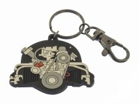 Beetle Engine Keychain
