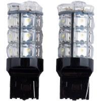 1156 LED White Pair