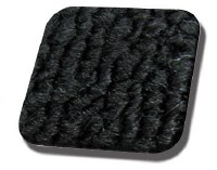 Rear Well Carpet T1 CONVERTIBLE 71-72 Black Loop