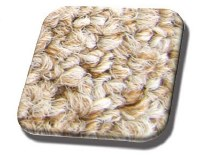 Rear Well Carpet T1 CONVERTIBLE 71-72 Oatmeal Loop