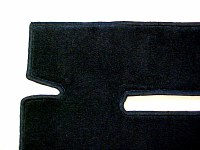 Carpet Cabriolet 80-93 Black