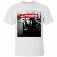 Tee Aircooled White Large
