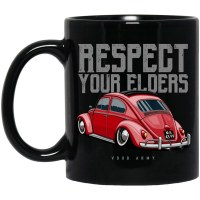 Mug Respect Bug Black
