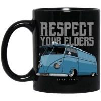 Mug Respect Bus Black