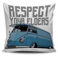Pillow Cover Respect Bus