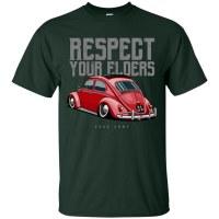Tee Respect Bug Green Lrg