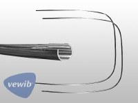 Rear Window Trim 58-64 LH & RH - PREMIUM