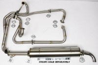 Vintage Speed Vanagon 83.5-91 1.9L 2.1L 2WD Exhaust Kit