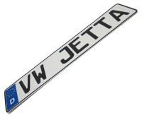 "Europlate EEC "" VW JETTA """