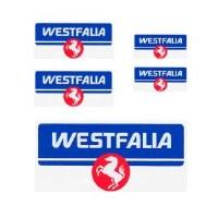 Stickers, Westfalia Set