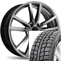 "18"" Winter Wheel Tire Set 001 (BLACKLION)"