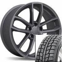"18"" Winter Wheel Tire Set 002 (BLACKLION)"