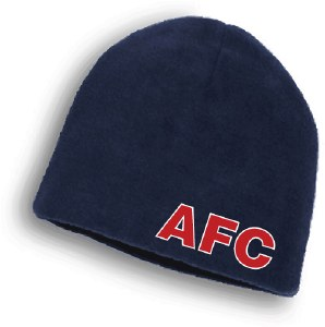 AFC Fleece Beanie - Navy Blue