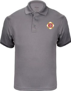 Gray Elbeco Tactical Polo