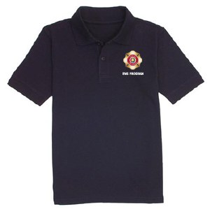 EMT-Basic Navy Blue Polo