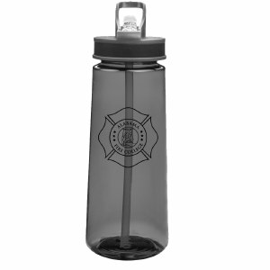 Water Bottle with Straw 22oz.