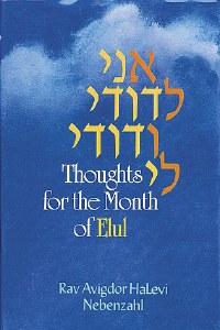 Ani Ledodi: Thoughts For Elul