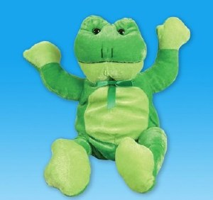 "3.5"" Flying Stretch Frog"