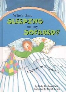 WHOS THAT SLEEPING ON MY SOFA