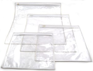 Clear Tefillin Bag Large