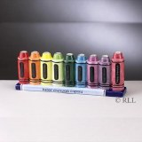 Ceramic Crayon Menorah