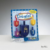 Enamel Wood Dreidel Game