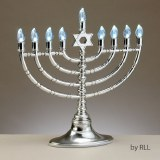 LED Low Volt Electric Menorah