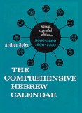 Comprehensive Hebrew Calendar