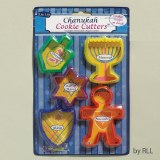 5 Chanukah Cookie Cutters