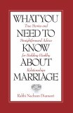 What You Need to Know Marriage