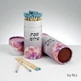 Shabbat Matches, Pink 60 Long