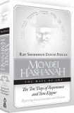 Moadei Hashanah: High Holidays