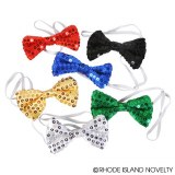 "4"" Sequin Bow Ties"
