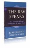 The Rav Speaks
