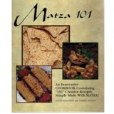 Matzah 101 Cookbook