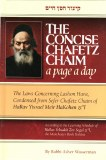 Concise Chafetz Chaim
