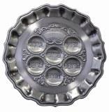 """Pewter Seder Plate - 13"""""""