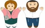 Tatty&Mommy Jewish Hand Puppet