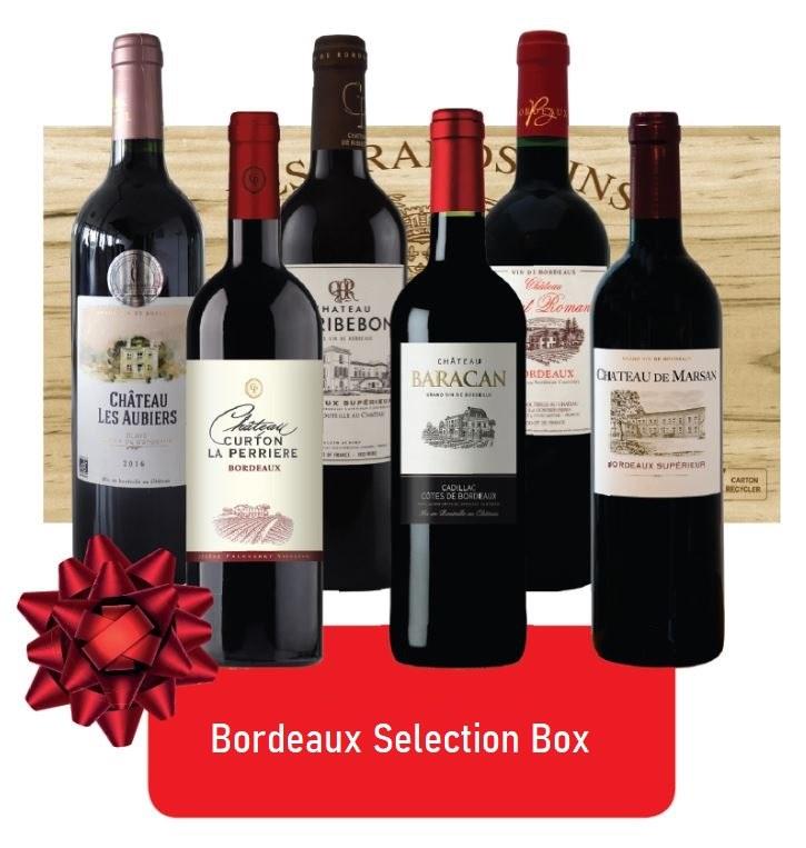 Bordeaux Box of Six Wines