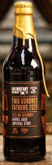 Galway Bay Brewery Two Hundred Fathoms 2020 500ML