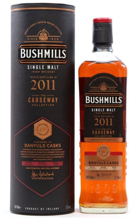 Bushmills 2011 'Causeway Collection' Sauternes Cask