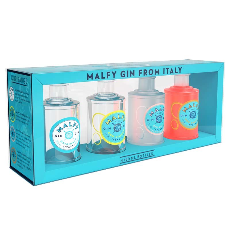 Malfy Gin Miniature Gift Pack 4x50ML